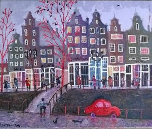 Литовка Дмитрий Амстердам