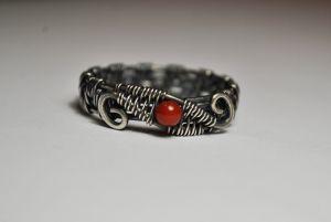 Сыньковыч Елена Серебряное кольцо с сердоликом