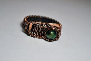 Rings Мідна каблучка ручної роботи