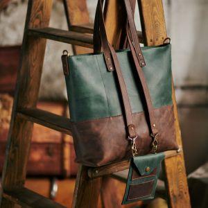 Женские сумки ручной работы Шопер 3 в 1 из натуральной кожи