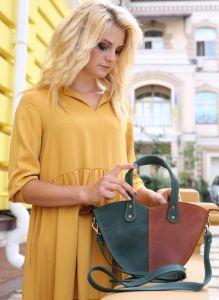 Женские сумки ручной работы Оригинальная сумка из кожы
