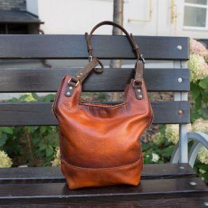 Повседневные женские сумки Сумка ручной работы кожаная