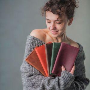 Аксессуары ручной работы Тревел-кейс кожаный
