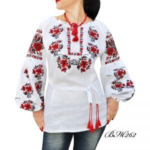 Рубашка с вышивкой крестиком ВЖ262