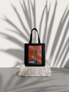 Еко сумка ручної роботи Шопер «Кішка»