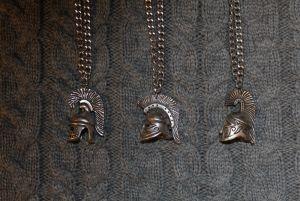 Древнегреческие шлемы