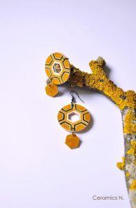 Жовті сережки Механічне сонце