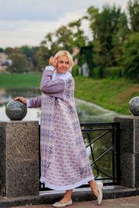 Андросова Татьяна Платье Олеандр