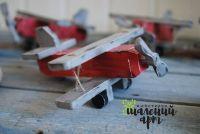 Деревянный самолетик