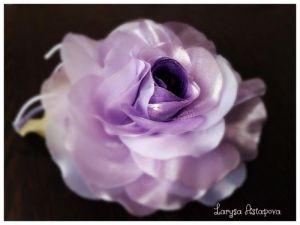 Заколки ручной работы Брошь - булавка Нежная Роза