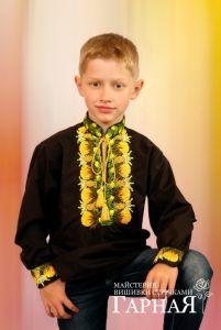 "Embroidered apparel - Children Дитяча вишиванка ""Святослав"""
