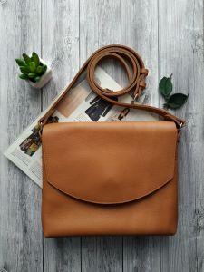 Вироби зі шкіри ручної роботи Жіноча шкіряна сумка планшет
