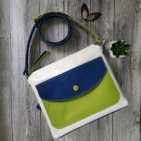 Шкіряна жіноча сумка Літо