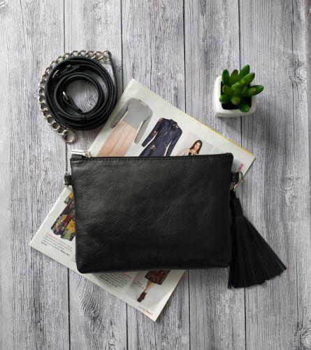 Кожаная сумочка клатч - изображение 1
