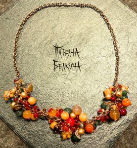 Ожерелье из тигровый глаз Щедрый дар