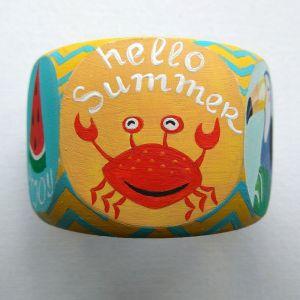 """Браслети ручної роботи Дерев'яний браслет """"Hallo summer"""""""