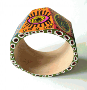 Браслети ручної роботи Браслет з дерева в африканському стилі