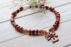 """Ожерелье из керамики Ожерелье """"Посвящение"""""""