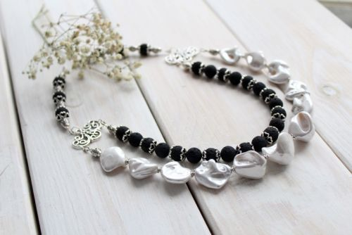 Ожерелье Black & White