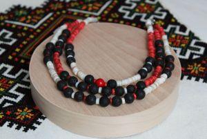 Ожерелье из ракушки Три стихии