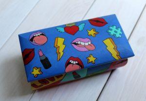 АртДекор Дерев'яна скринька розписана у стилі поп-арт