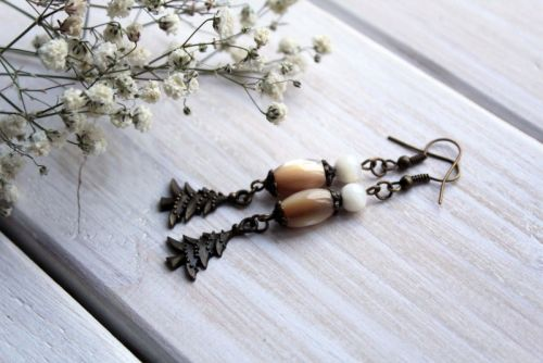 """Сережки """"Магія свята"""" - зображення 1"""