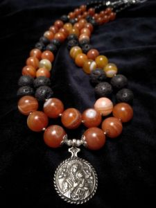 Билокопита Оксана Ожерелье из сердолика