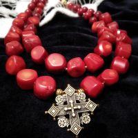 Ожерелье с кораллом, коралл, Згарда