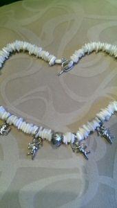 Ожерелье с ангелами