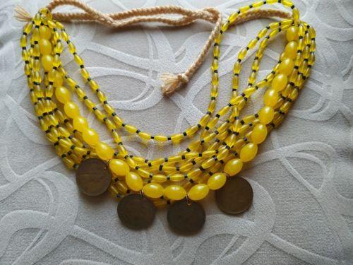 Ожерелье с монетами