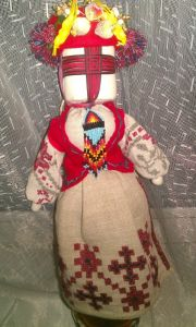 Ляльки ручної роботи Мотанка с герданом