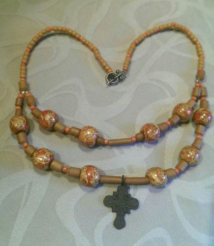 Украинское ожерелье с казацким крестом