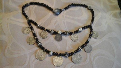 Намисто з антикварними монетами