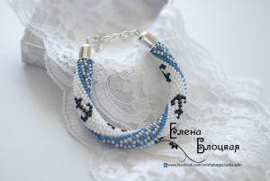 Блакитний браслет Морський