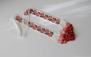 Ожерелье из бисера Ожерелье Цветки
