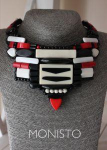 Боер Лидия Black red and white