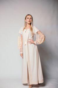 """Вишиті сукні Сукня """"Магія кремова 1"""""""