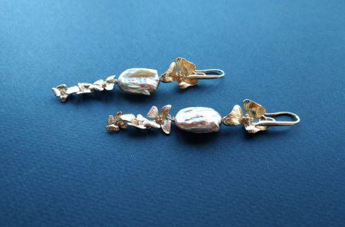 Сережки з колекції «Nuage de Fleurs» Арт. E27819NdF