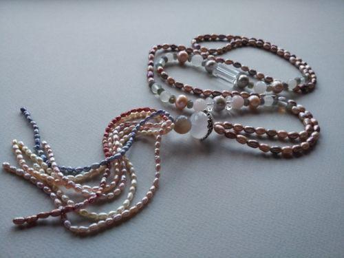Намисто в стилі «Rope» Колекція «Pearl fish» Арт. N003PF-4