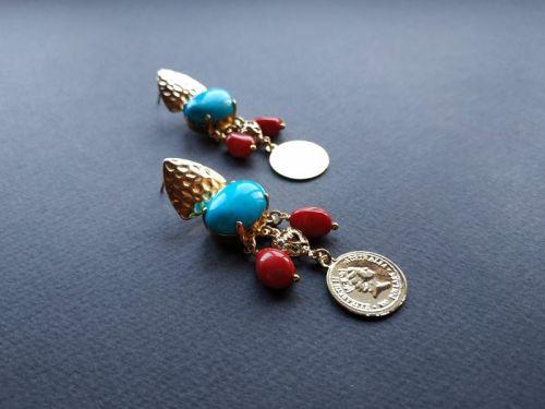 Сережки з колекції «Tresors des profondeurs de l`ocean» Арт. E17719TPO
