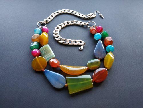 Ожерелье из коллекции «Jazz d'Automne» Арт. N15919JdA