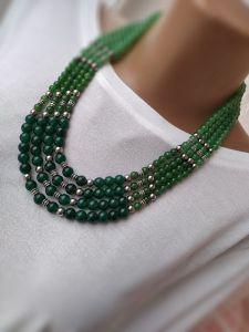 Beaded necklaces Веснянка