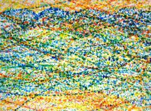 Картины графика Голубые Карпаты