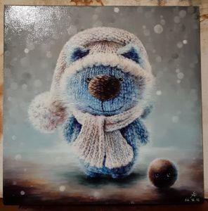 Мальовані картини Зима близько