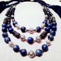 Лазуритовое ожерелье