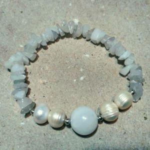 Браслети ручної роботи Браслет з перлами