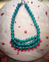 Ожерелье в этническом стиле