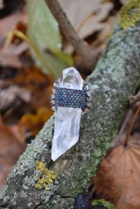 Кольца ручной работы Ледяной кристалл