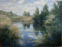 с. Рудня. Киевская обл. Щучье озеро