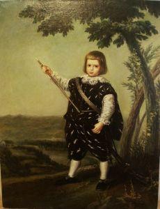 Портрет инфанта Дона Бальтазара Карлоса (копия)